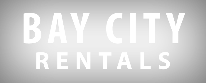 Logo. Bay City Rentals